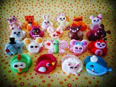 Ateliê Mãos à Arte - Doces Encantos: Forminha para doces - Mascotes Lalaloopsy