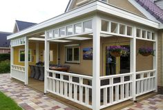 Unieke veranda in jaren 30 stijl? Kies voor Jaro Houtbouw