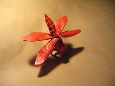 | Skimmer Dragonfly |  ~ designed and folded by Brian Chan