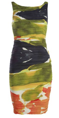 Valerie Rouched Fitted Dress
