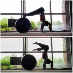 Hand stand practice