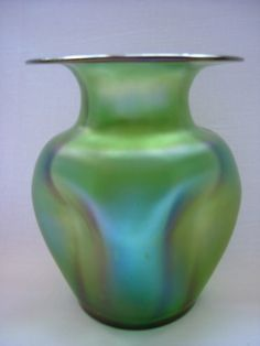 Loetz Creta Glatt Vase   Collectors Weekly