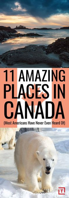 Best Places in Canada to Get Off the Grid for a While Including surfing, snowmobiling, and snorkeling with beluga whales.Including surfing, snowmobiling, and snorkeling with beluga whales. Banff, Quebec, Montreal, Places To Travel, Travel Destinations, Places To Visit, Travel Tips, Travel Ideas, Travel Hacks