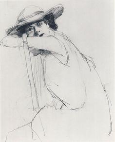 Portrait of a Woman by Richard Feynman