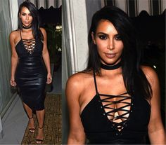 O novo corte de cabelo da Kim Kardashian - Fashionismo