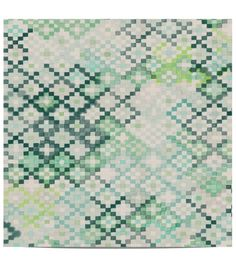"""wallpaper called """"Tapestry in Emerald"""", made in Sydney. Available at Quercus and Co."""
