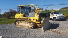 '05 Komatsu D61EX-15 Bull Dozer Crawler Tractor Hystat Diesel Engine Cab Heat AC