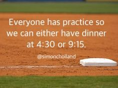 LOL well, it was at 3:45 in the afternoon on Friday and then again that night at 10:30 PM. Little League Baseball, Baseball Boys, Softball Mom, Baseball Stuff, Volleyball, Baseball Sayings, Soccer Moms, Baseball Videos, Softball Quotes