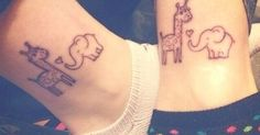 Latest 55 Elephant Tattoo Designs for Girls: 2015 | Elephants, Elephant Tattoos and Giraffes