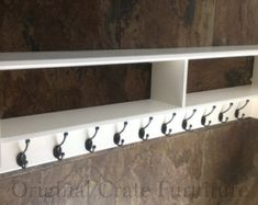 Hall shoe bench and shoe rack with storage by OriginalCrate