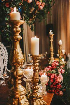 wedding centerpiece idea; photo: Lara Hotz Photography