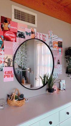 Teen Room Decor, Room Ideas Bedroom, Bedroom Inspo, Bedroom Decor, Budget Bedroom, Bedroom Inspiration, Master Bedroom, Pretty Room, Aesthetic Room Decor