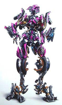 Arcee - Transformers Movie