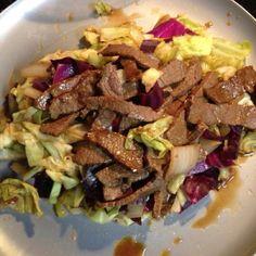 Beef & Cabbage stir-fry