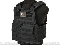 VISM / NcStar Tactical Plate Carrier - Black