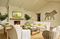 Jurnal de design interior - Amenajări interioare : Tonuri naturale într-o frumoasă casă de vacanță