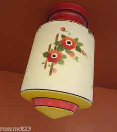 Luscious and colorful 1930s kitchen fixture