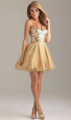 883e99c54b6 Night Moves 6498 Fun and Flirty Sequin Tulle Short Dress