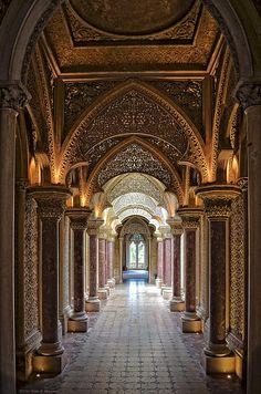 Passage way - Monserrate Palace