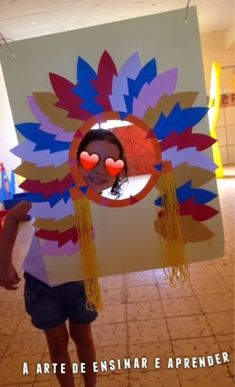 November- Native American theme photo props- Harvest party idea, also make totem pole prop