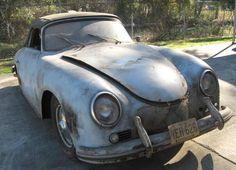 Meissen Blue Mystery: 1957 Porsche 356A Cabriolet Project