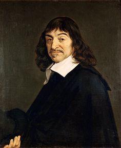 """René Descartes is geboren in 1596 in frankrijk. Zijn ouders hoorden bij de bourgeoisie en kon daarom veel reizen. Zo ontdekte hij dat iedereen anders nar de wereld keek.Hij staat bekend om zijn uitsraak """"cogito ergo sum"""" oftewel: ik denk dus ik ben. Hij wist maar een ding zeker en dat was dat hij twijfelde. Hij zei ook dat twijfel het beginpunt was van de wetenschap. Uiteindelijk stierf hij in 1650 in Stockholm."""
