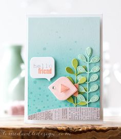 Fishy Friends & Baby Showers - Tiny Tags die set