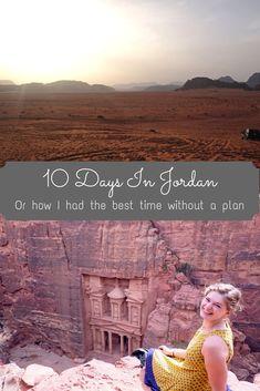 10 days in jordan pin