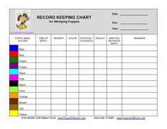 Record Keeping Charts                                                                                                                                                                                 More