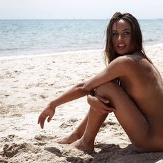 Goddess by the beach...waiting for her NYOS bikinis....