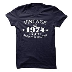 Vintage 1974 T-Shirts, Hoodies. Check Price Now ==► https://www.sunfrog.com/LifeStyle/Vintage-1974-13022741-Guys.html?id=41382
