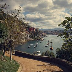 All things Europe. Pasaia, Spain (Pasaia San Juan is one street along the river, and has the best bacalao in all of Pais Vasco! Places Around The World, Oh The Places You'll Go, Great Places, Places To Travel, Beautiful Places, Places To Visit, Around The Worlds, Dream Vacations, Vacation Spots