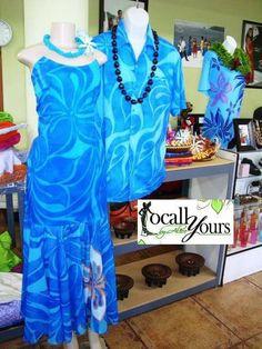 Locally yours Island Wear, Island Outfit, Ethnic Fashion, African Fashion, Samoan Dress, Hawaiian Wear, Island Style Clothing, Island Shirts, Fabric Printing