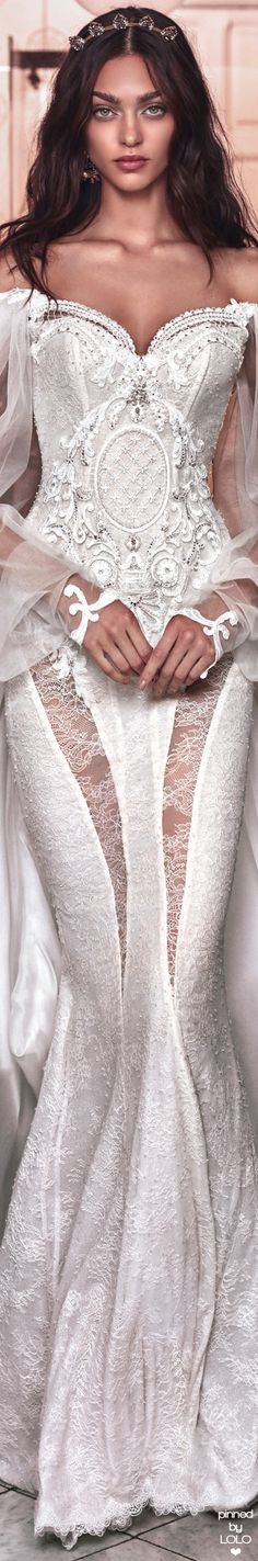 Galia Lahav Victorian Affinity Collection Thelma and Ossie train