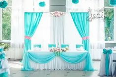 Tablecloth setup only Backdrop Design, Backdrop Decorations, Photo Booth Backdrop, Reception Decorations, Event Decor, Blue Wedding, Wedding Table, Diy Wedding, Dream Wedding