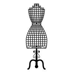 desenho manequim feminino - Pesquisa Google
