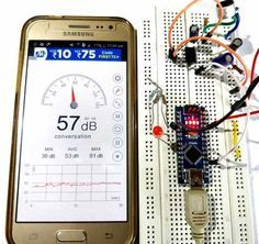 Measuring sound in decibel with Microphone and Arduino working