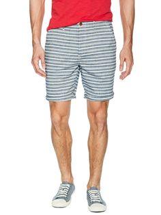 The Kessler Stripe Shorts by Farah 1920 at Gilt USD  59