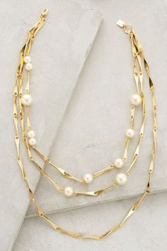 Swan Dive Necklace - anthropologie.com #anthrofave