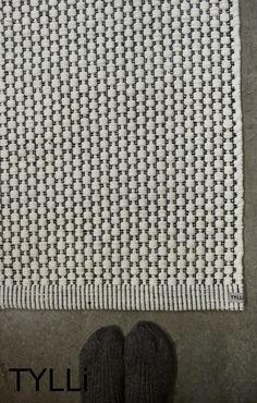 Luonnonvalkoinen Satakieli-käytävämatto Textiles, Interior Design, Rugs, Wrapping, Presents, Home Decor, Weaving, Carpet, Nest Design