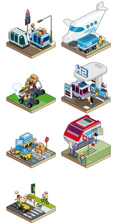 SOLE24ORE_mobility by Totto Renna, via Behance