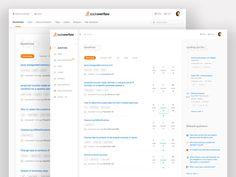 Stackoverflow redesign