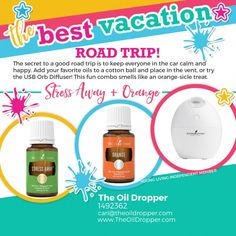 Are you heading out of town for a road trip? You need road trip essential oils to keep everyone happy on the ride. Bring along your car diffuser!