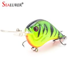 Fishing Lures. SEALURER 1PCS Fishing Lure Deep Swimming Crankbait 9.5cm 11.5g Hard Bait 5 Colors Available Wobbler Slow Floating Fishing Tackle. #Fishing Lures