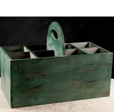 This could be used for so many things... 17x13 wood crate with compartments $32, should be able to make it for way less!