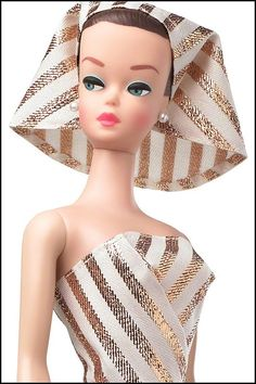 1963 Fashion Queen Barbie   wig from 1965 Wig Wardrobe  1964    Barbie     Speaking of Fashion queen Barbie Doll  released on had her second debut on  in commemoration of Barbie Birthday