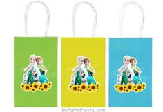 Frozen Fever Favor Bag Party birthday Decorations - Go Party Fiesta