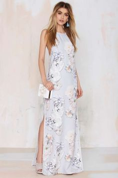 Finders Keepers Check the Rhyme Maxi Dress - Midi + Maxi | Dresses | Clothes | All | Finders Keepers