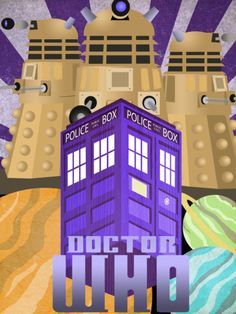 Doctor Who given the Art Deco treatment