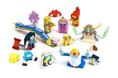 Les personnages d'Adventure Time Bientôt En Lego !!! WANT !!!